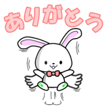 Faith Rabbit sticker #4949488