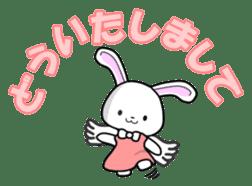 Faith Rabbit sticker #4949489