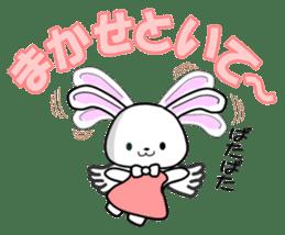 Faith Rabbit sticker #4949491