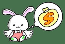 Faith Rabbit sticker #4949497