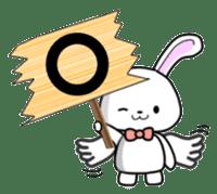 Faith Rabbit sticker #4949504