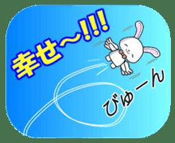 Faith Rabbit sticker #4949506