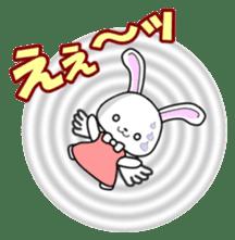 Faith Rabbit sticker #4949509