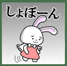 Faith Rabbit sticker #4949514