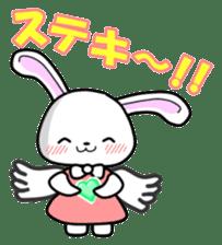 Faith Rabbit sticker #4949518