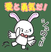 Faith Rabbit sticker #4949519