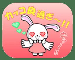 Faith Rabbit sticker #4949520