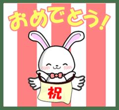 Faith Rabbit sticker #4949521