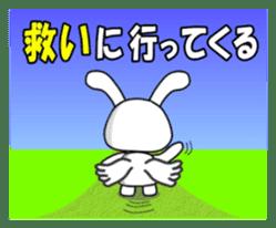 Faith Rabbit sticker #4949522