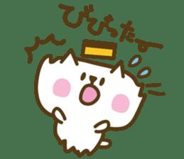 nagasaki castella cat sticker #4949580