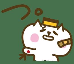 nagasaki castella cat sticker #4949605