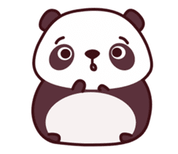 Malwynn Panda Bear Lovely Sticker Set sticker #4950846