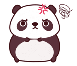 Malwynn Panda Bear Lovely Sticker Set sticker #4950850