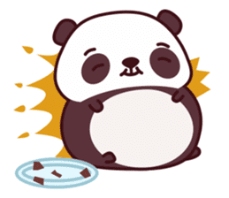 Malwynn Panda Bear Lovely Sticker Set sticker #4950851