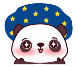 Malwynn Panda Bear Lovely Sticker Set sticker #4950860