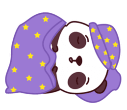 Malwynn Panda Bear Lovely Sticker Set sticker #4950865