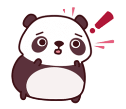 Malwynn Panda Bear Lovely Sticker Set sticker #4950875
