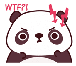 Malwynn Panda Bear Lovely Sticker Set sticker #4950885