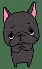 Black French Bulldog Sticker sticker #4951271