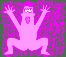 Funky Pinky sticker #4952534