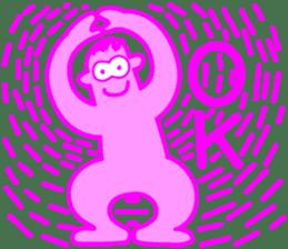 Funky Pinky sticker #4952542