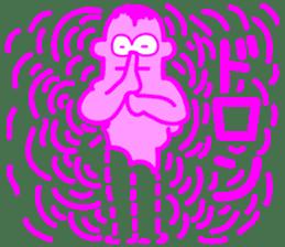 Funky Pinky sticker #4952546
