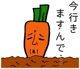 vegetable life. sticker #4953596
