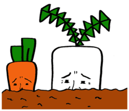 vegetable life. sticker #4953604