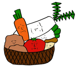 vegetable life. sticker #4953605