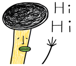 Crazy Mushroom - English version sticker #4963646