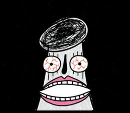 Crazy Mushroom - English version sticker #4963657