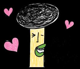 Crazy Mushroom - English version sticker #4963658