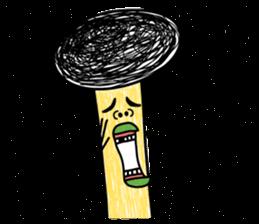 Crazy Mushroom - English version sticker #4963672