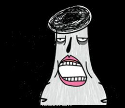 Crazy Mushroom - English version sticker #4963674