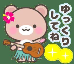 Kumatan in summer sticker #4967019