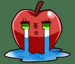 People of an apple clan sticker #4967418