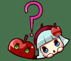 People of an apple clan sticker #4967419