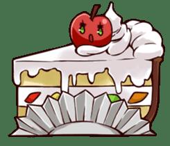 People of an apple clan sticker #4967420