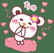 LOVE LOVE! I like you -Chocolate bear- sticker #4970215