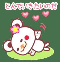 LOVE LOVE! I like you -Chocolate bear- sticker #4970218