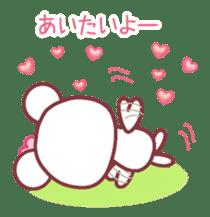 LOVE LOVE! I like you -Chocolate bear- sticker #4970219