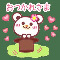 LOVE LOVE! I like you -Chocolate bear- sticker #4970222