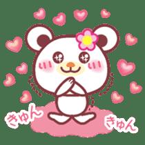 LOVE LOVE! I like you -Chocolate bear- sticker #4970223