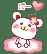 LOVE LOVE! I like you -Chocolate bear- sticker #4970224