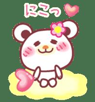 LOVE LOVE! I like you -Chocolate bear- sticker #4970227