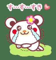 LOVE LOVE! I like you -Chocolate bear- sticker #4970228