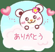 LOVE LOVE! I like you -Chocolate bear- sticker #4970231