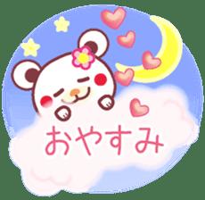 LOVE LOVE! I like you -Chocolate bear- sticker #4970233