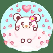 LOVE LOVE! I like you -Chocolate bear- sticker #4970237