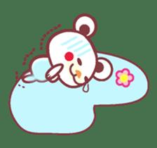 LOVE LOVE! I like you -Chocolate bear- sticker #4970241